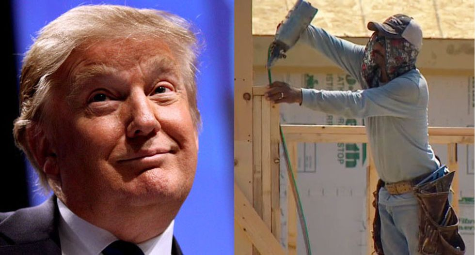 Trump wants to build a wall as Texas developers complain about shortage of Mexican laborers to build homes