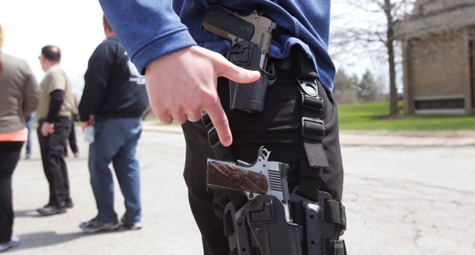 Bill letting people bring concealed guns across state lines passes US House