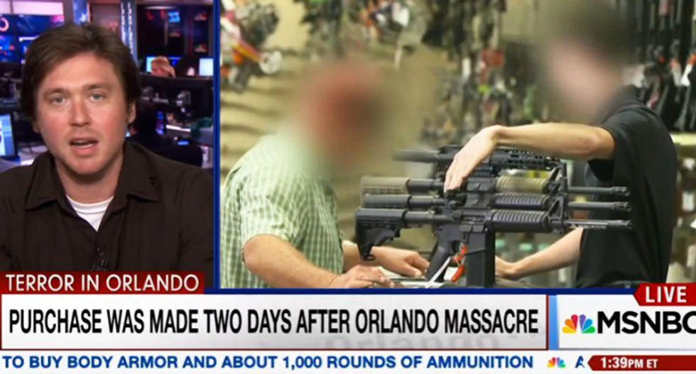 WATCH: Writer explains how it took him 38 minutes to buy an AR-15  -- two days after Orlando shooting