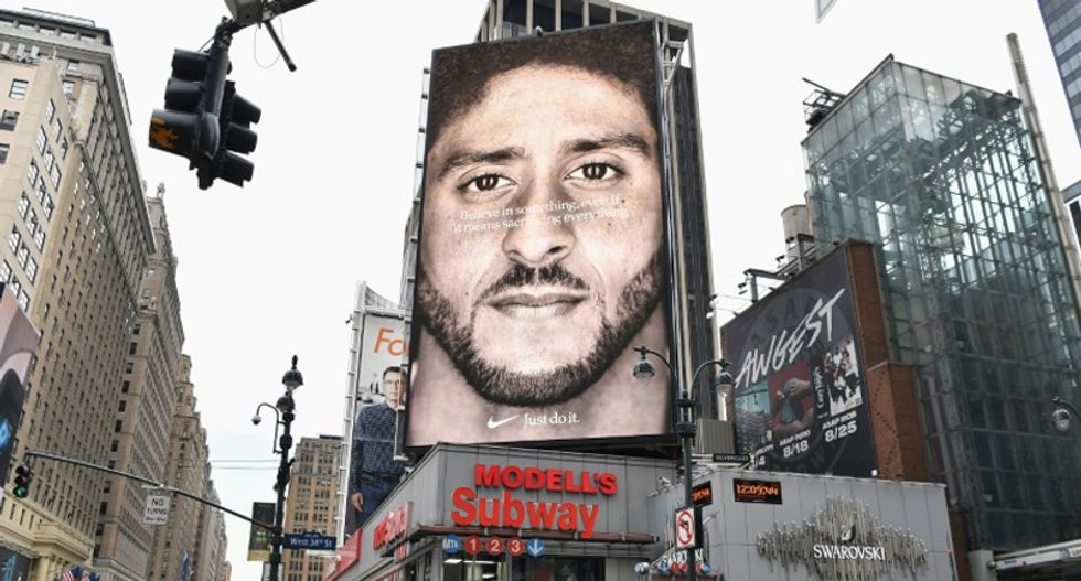 Conservative outrage backfires as Nike stock closes at an all-time high after Colin Kaepernick ad