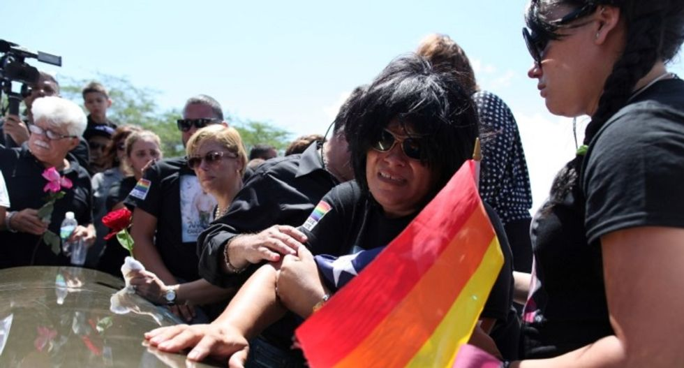 Tensions run high at two funerals for Orlando shooting victims Saturday