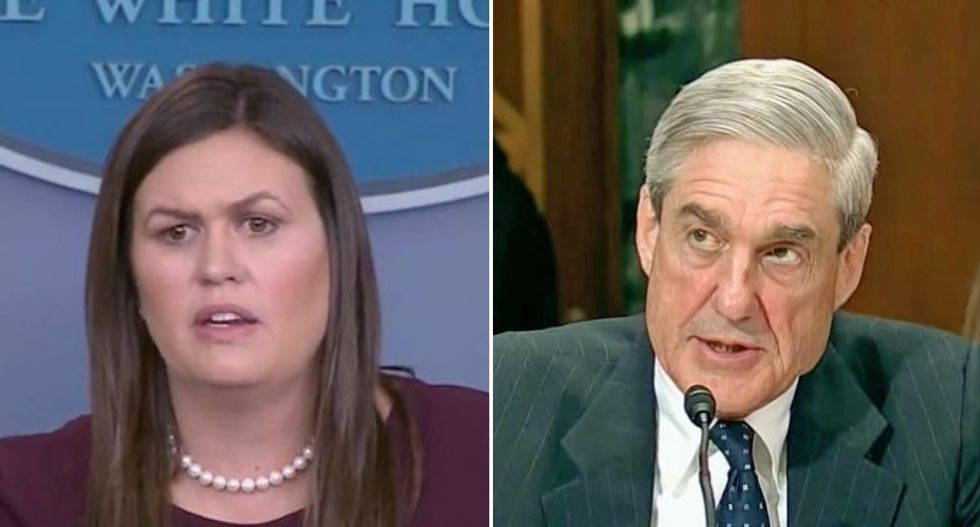 Sarah Huckabee Sanders has been interviewed by Robert Mueller: CNN