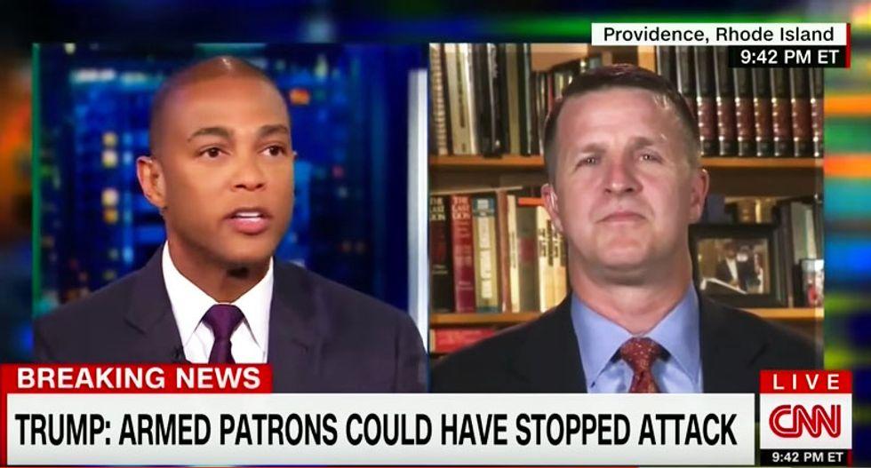 Don Lemon shames Trump adviser with powerful description of grief felt by families of shooting victims