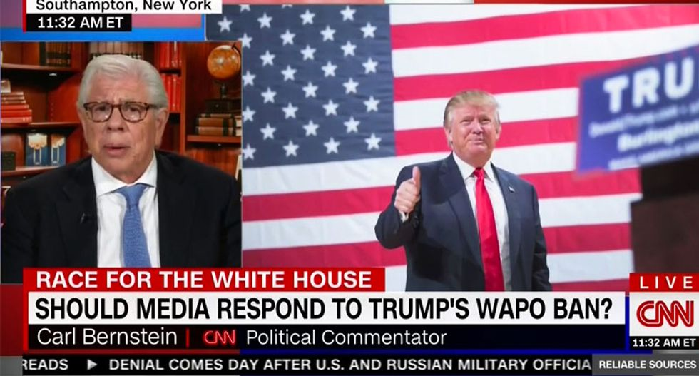 Carl Bernstein: Donald Trump is a 'pathological liar' and America's first 'neofascist' nominee