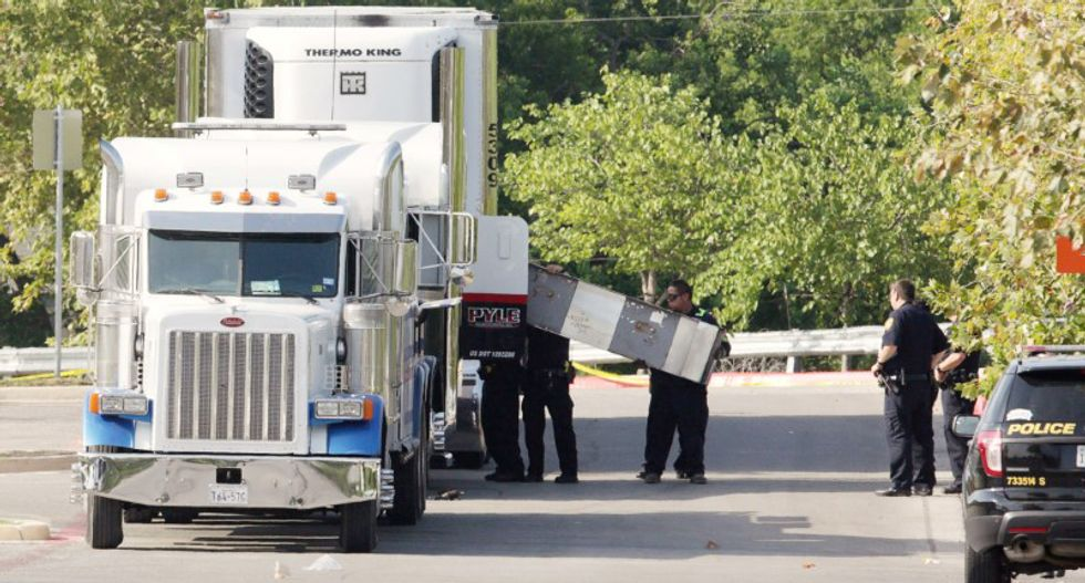 Truck driver formally indicted for 10 immigrant deaths in Texas
