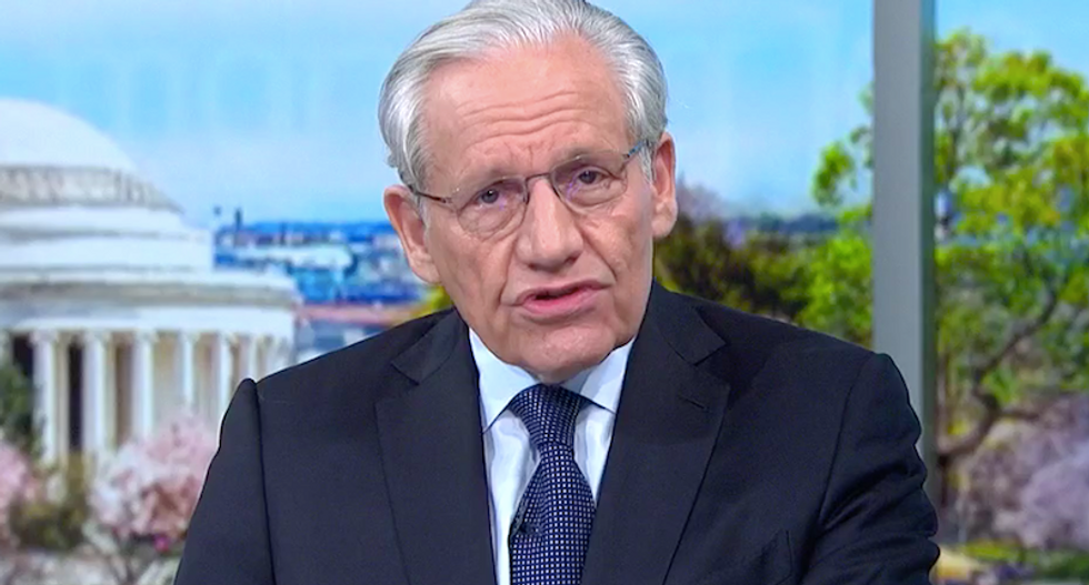 Bob Woodward reveals that Trump has been lying about his China travel restriction