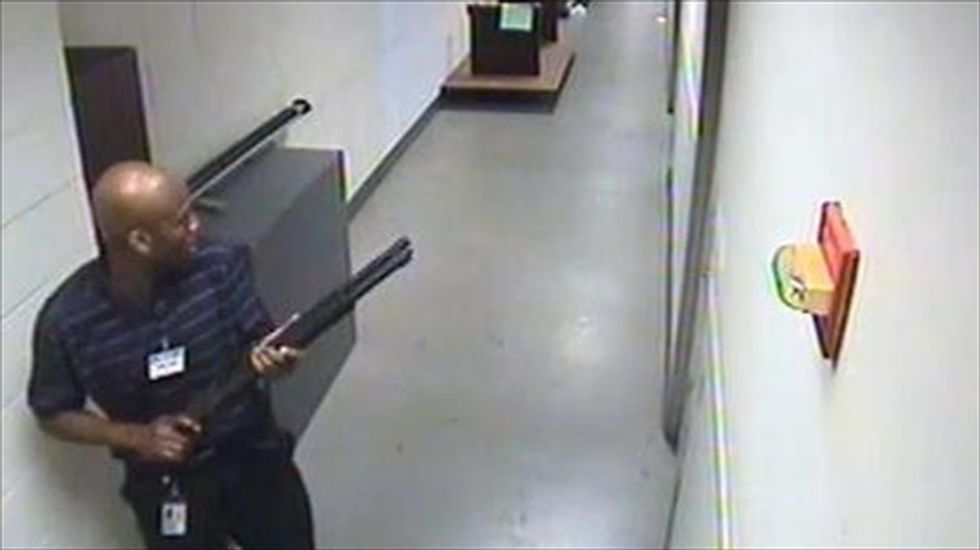 FBI releases video of Navy Yard shooter before he began his attack