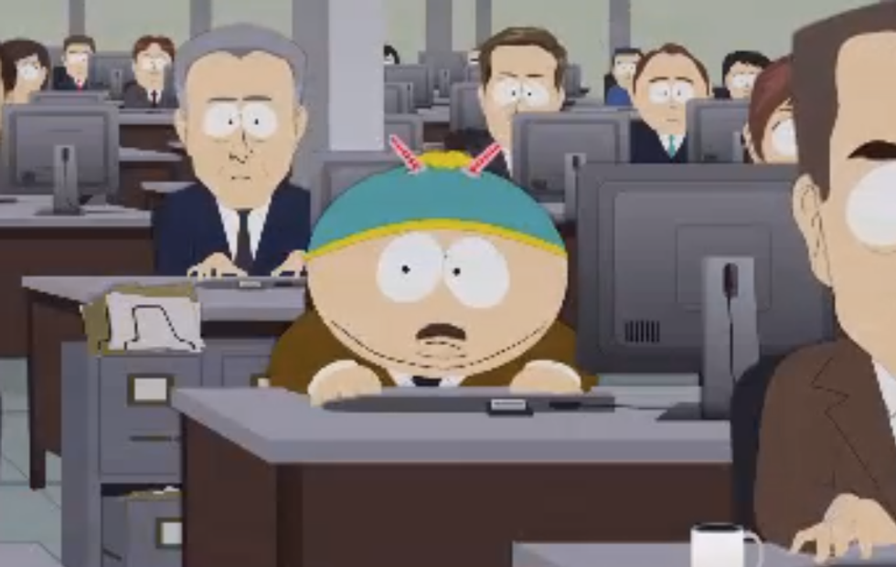 Eric Cartman becomes the new Edward Snowden on 'South Park'