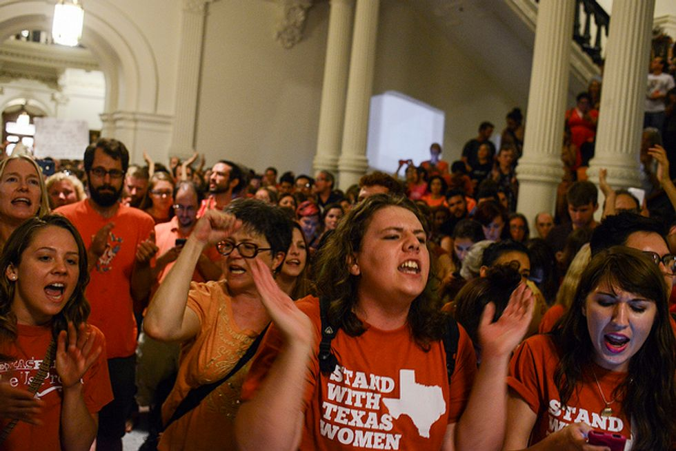 Planned Parenthood, Center for Reproductive Rights and ACLU challenge Texas anti-choice laws