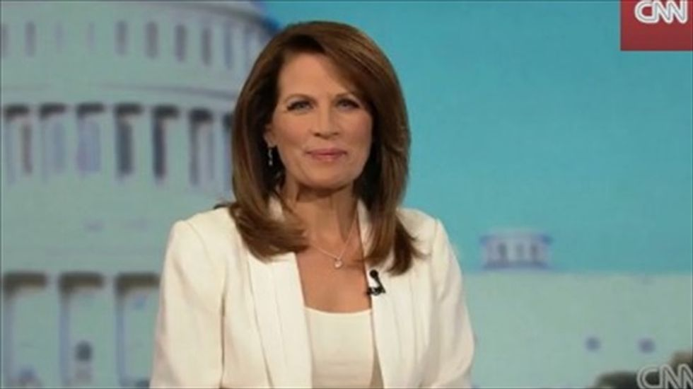 Michele Bachmann still linking Obamacare to 'death panels'