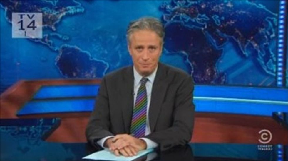 Jon Stewart tracks differences between Pope Francis and 'incredibly fallible' religious Republicans