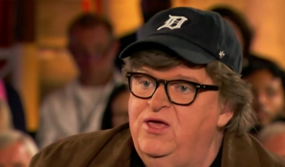 Michael Moore warns Donald Trump could 'absolutely' be the last president of the United States