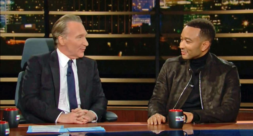 John Legend explains to Bill Maher why he wouldn't play R. Kelly music at a party