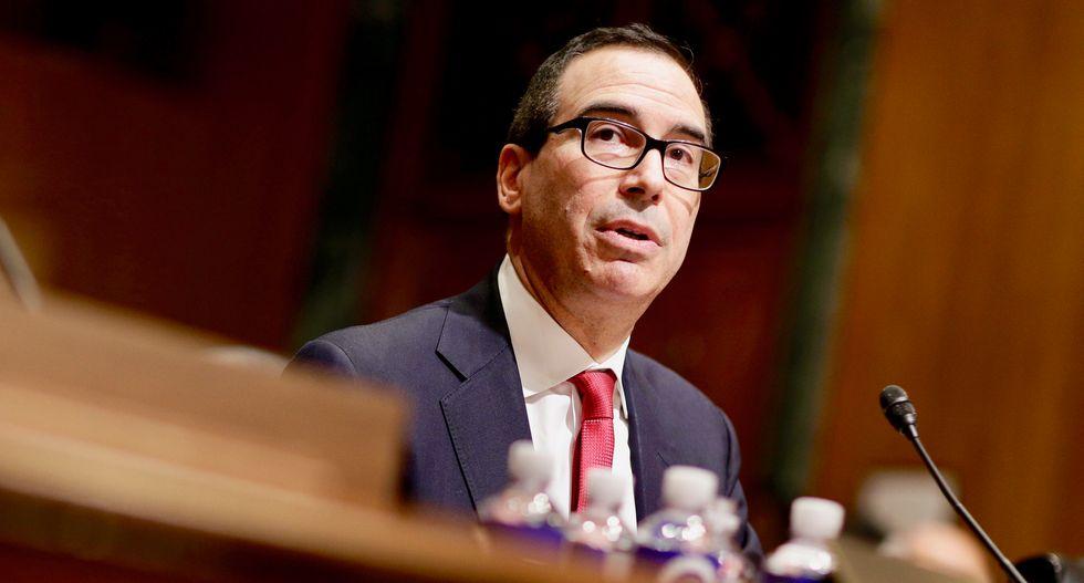 Treasury Secretary Mnuchin: US only has enough money to pay its bills through September