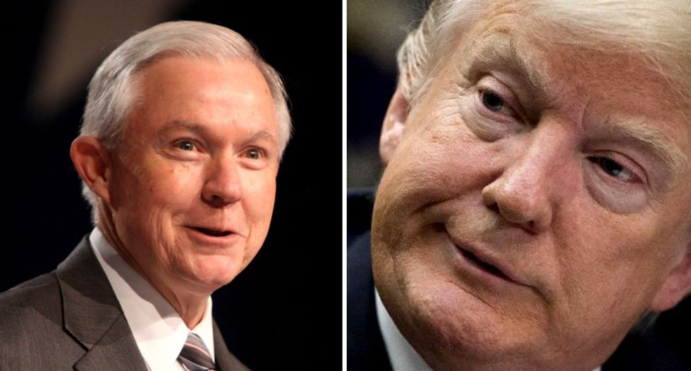 Jeff Sessions hits back at Donald Trump after the president endorses senate opponent: 'You're damn fortunate'