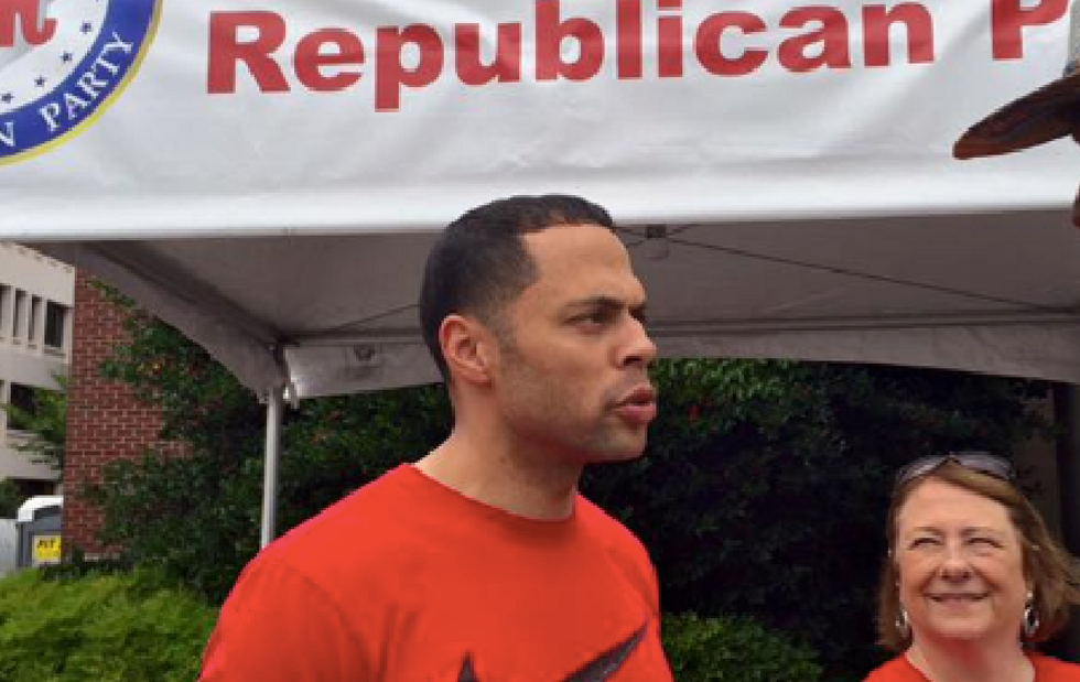 Black Georgia GOP official booted from Atlanta Trump event with no explanation