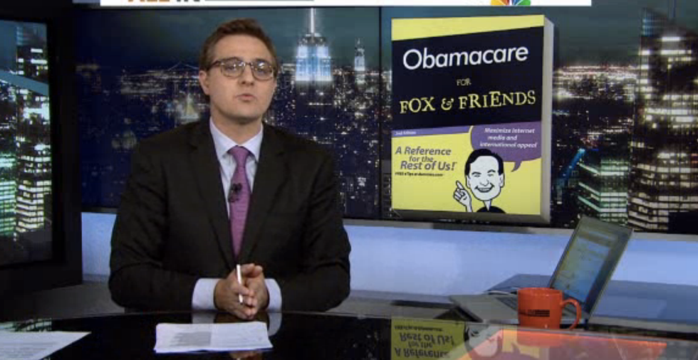 Hayes explains 'Obamacare for Dummies' at 'Fox and Friends'