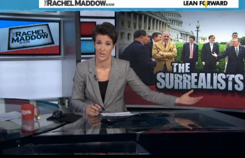 Maddow: House Republicans are 'a classical array of stunned and mystified'