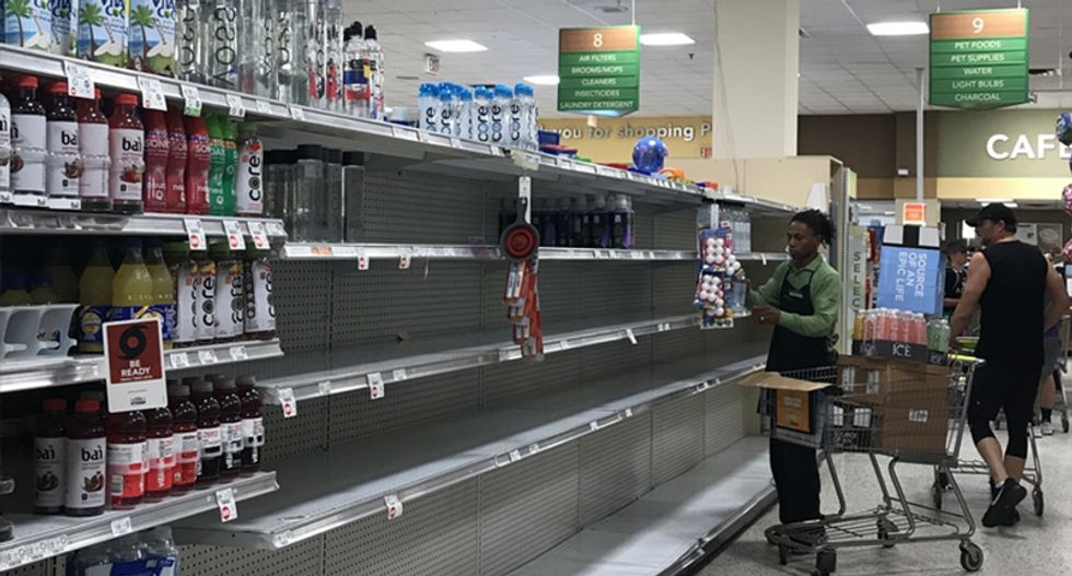 People are lashing out at Amazon sellers for price gouging cases of water ahead of Hurricane Florence