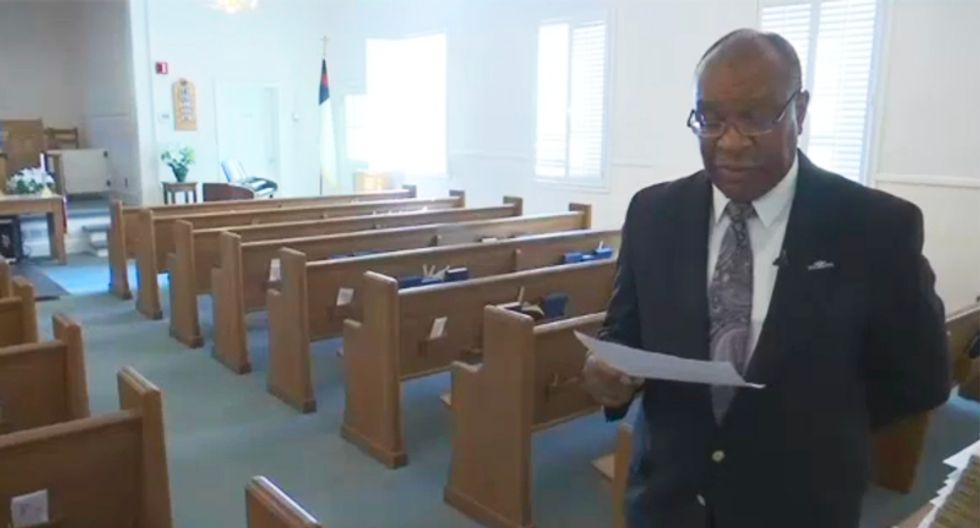 'I'm appalled at my previous thoughts': Black church receives apology and $2,000 from former 'terrible racist'