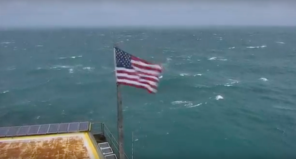 WATCH LIVE: Lighthouse camera captures Hurricane Florence's approach from 34 miles off NC coast