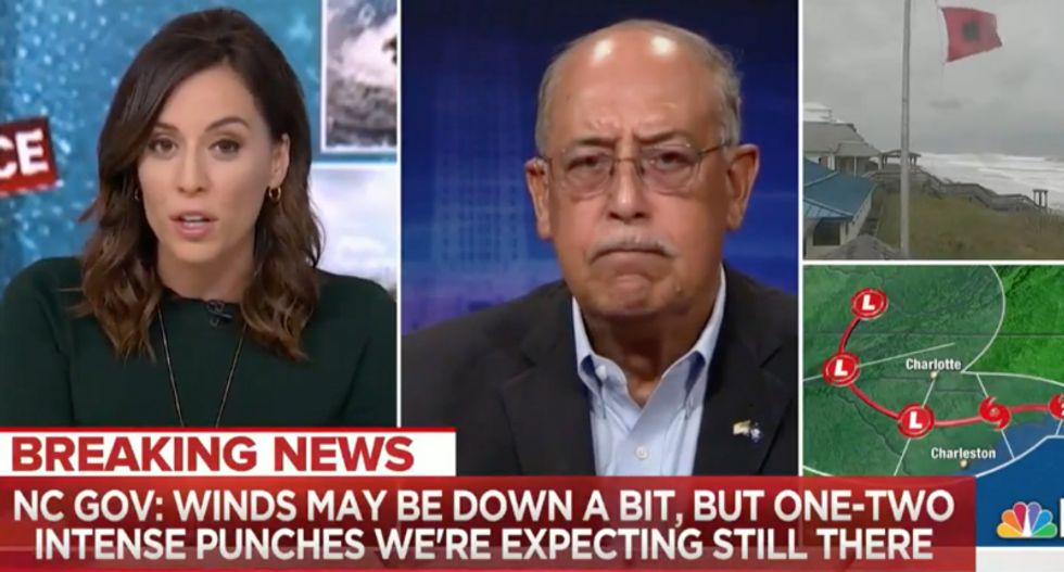 Retired general tells MSNBC Trump needs to 'stay off the damn golf course' and focus on Hurricane Florence