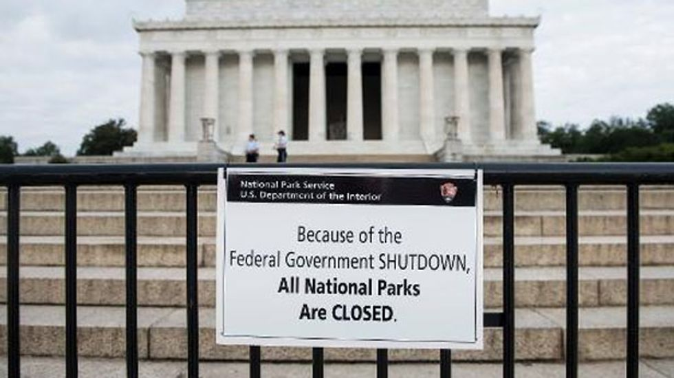 Here are the consequences of first government shutdown in 17 years
