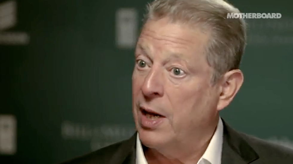 Al Gore: 'Our democracy has been hacked,' and survival of civilization at risk