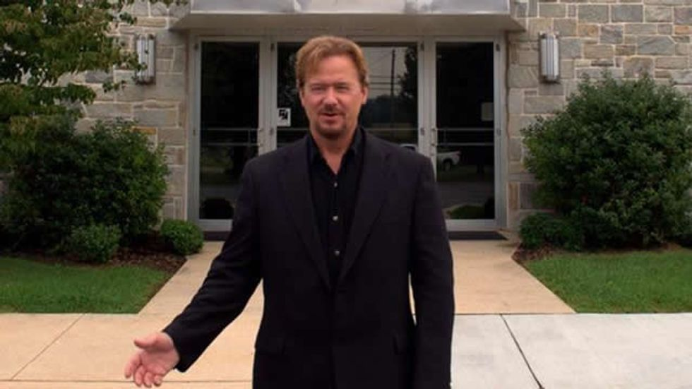 Pennsylvania church puts pastor on 'trial' for officiating son's gay marriage in Massachusetts
