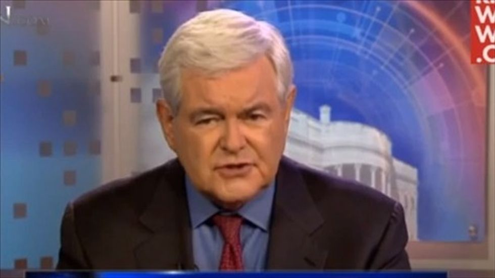 Newt Gingrich: 'Obama refuses to behave like an American president'