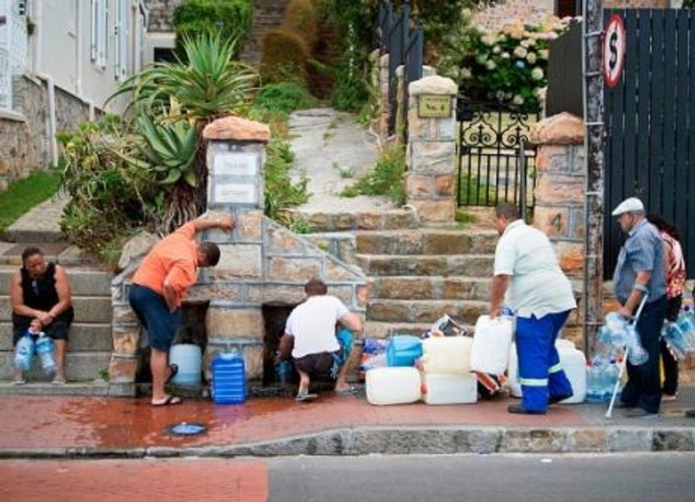 The tow-an-iceberg plan being floated to ease Cape Town drought