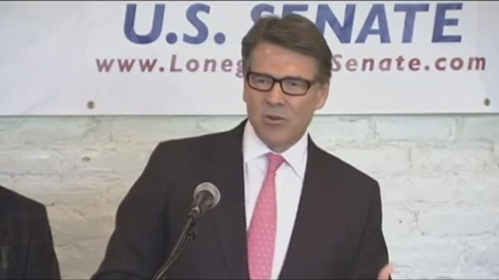 Rick Perry warns that implementing Obamacare is a 'criminal act'