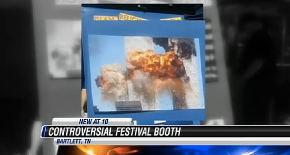 Anti-Muslim booth at Tennessee fall festival linked Obama to 9/11 attacks