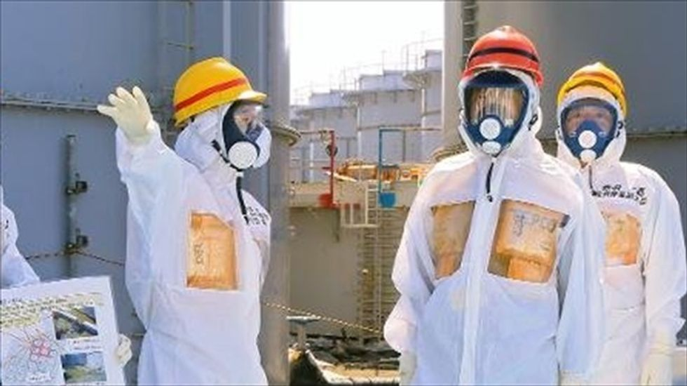 Four tons of radioactive water spilled in accident at Fukushima nuclear plant