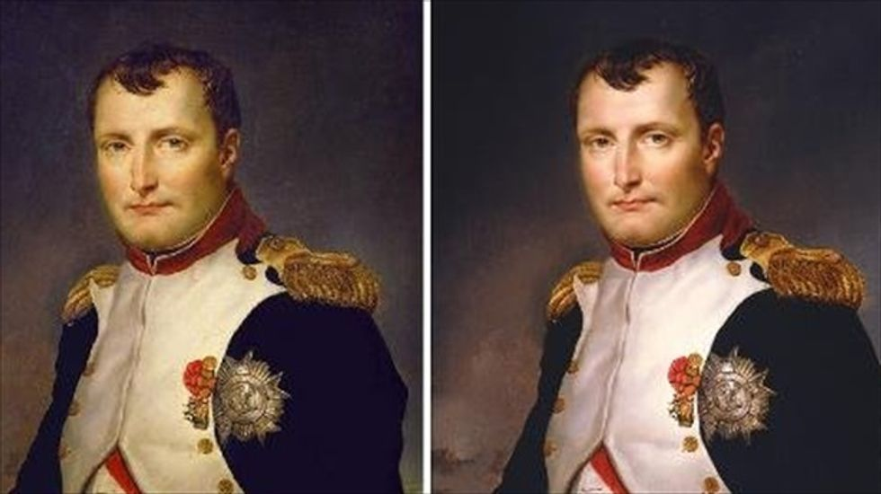 Long-lost Napoleon portrait resurfaces in New York