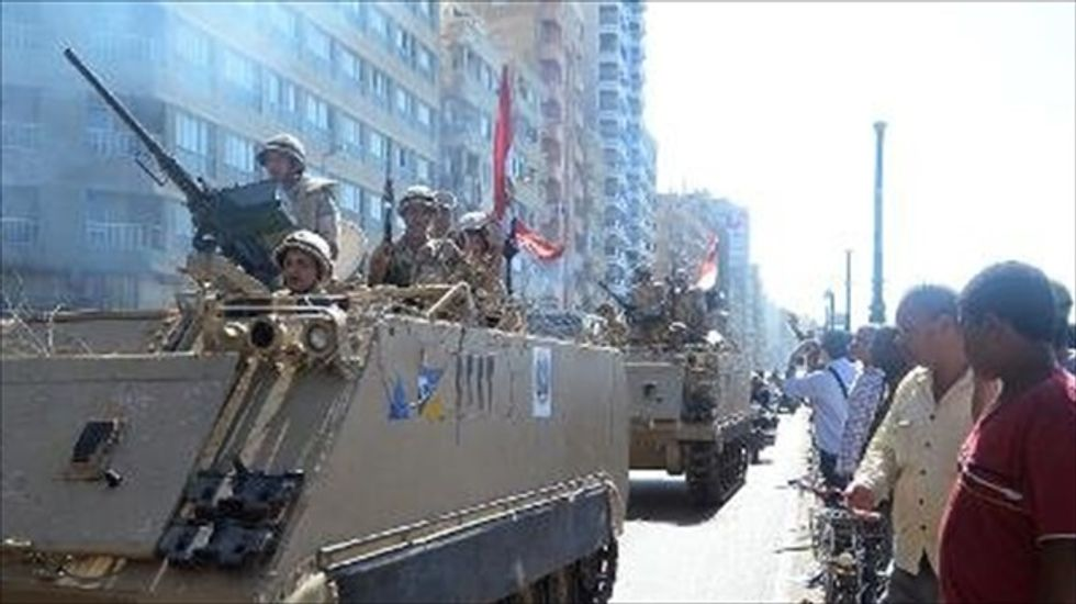 U.S. safeguards $584 million aid package for Egypt