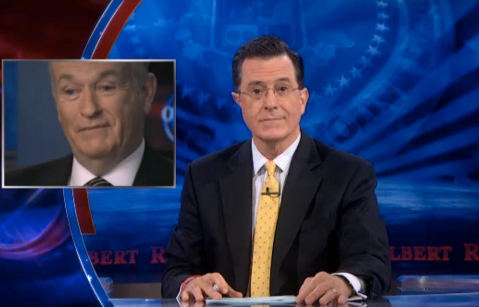 Colbert defends O'Reilly's Jesus bio: 'No forgiveness, motherf*cker!'