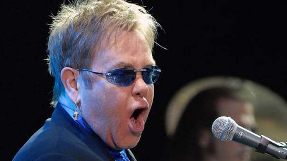 Russian imam says Elton John fans face 'divine retribution'