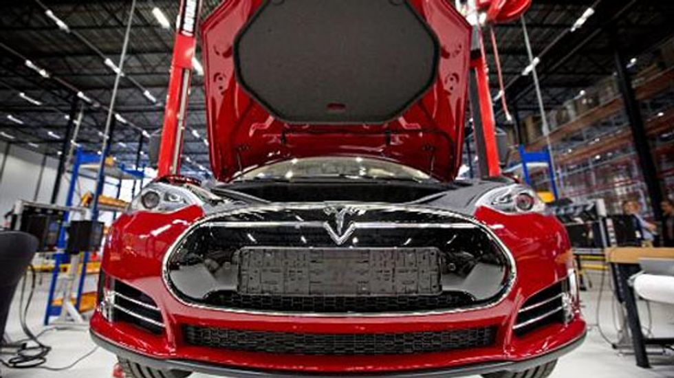 Tesla stock assigned 'junk' credit rating by Standard & Poor's