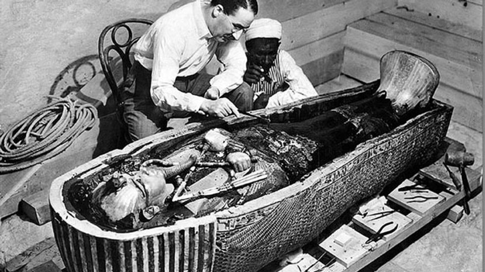 Replica of Tutankhamun's tomb aims to divert tourists from threatened site