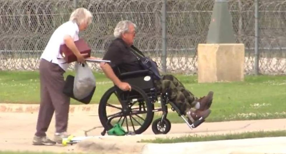 From behind bars, former House Speaker Dennis Hastert fights victims' lawsuit