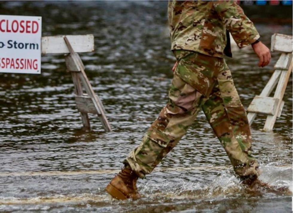 Trump to visit hurricane-stricken North Carolina, death toll at 33