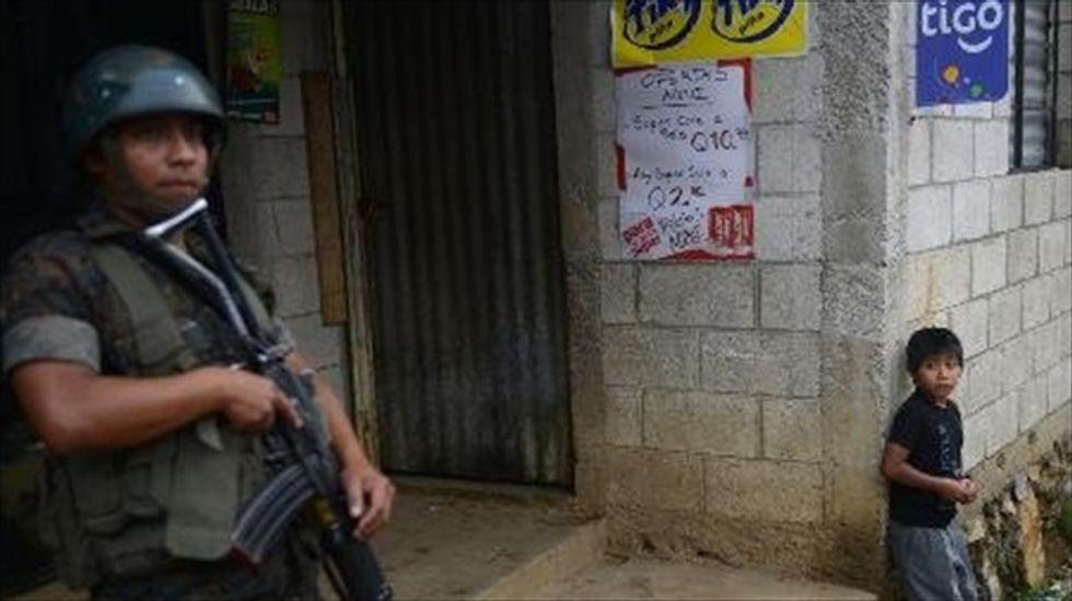 Guatemalan gangs recruiting kids as young as 6 years old