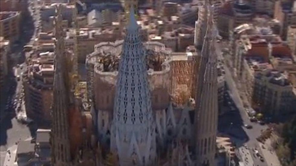 Video reveals final design for Barcelona's Sagrada Familia
