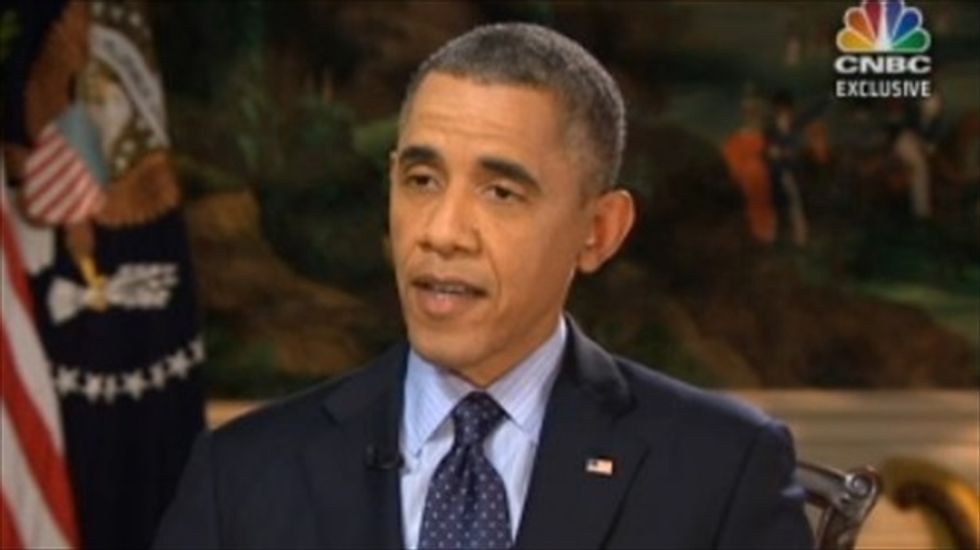 'Exasperated' Obama warns Wall Street over shutdown's financial implications