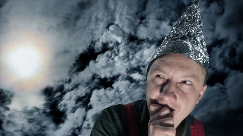 Climate change sceptics more likely to be conspiracy theorists