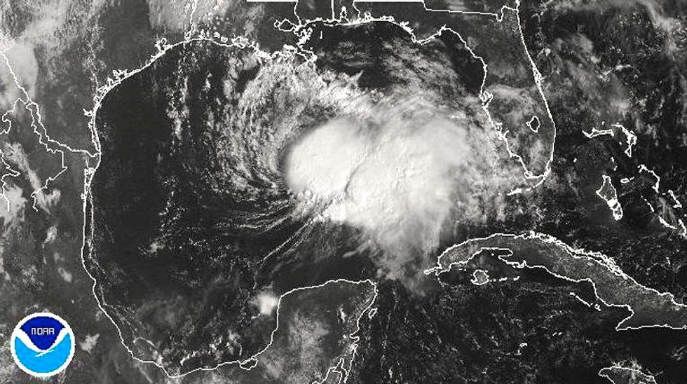 Tropical Storm Karen targets U.S. Gulf Coast