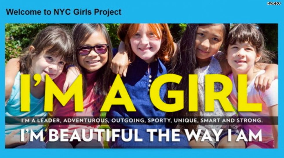 New York to boost young girls' self-esteem with 'body-beautiful' campaign