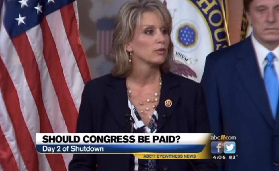 North Carolina GOP Rep: I'm taking my paycheck during shutdown because I need it
