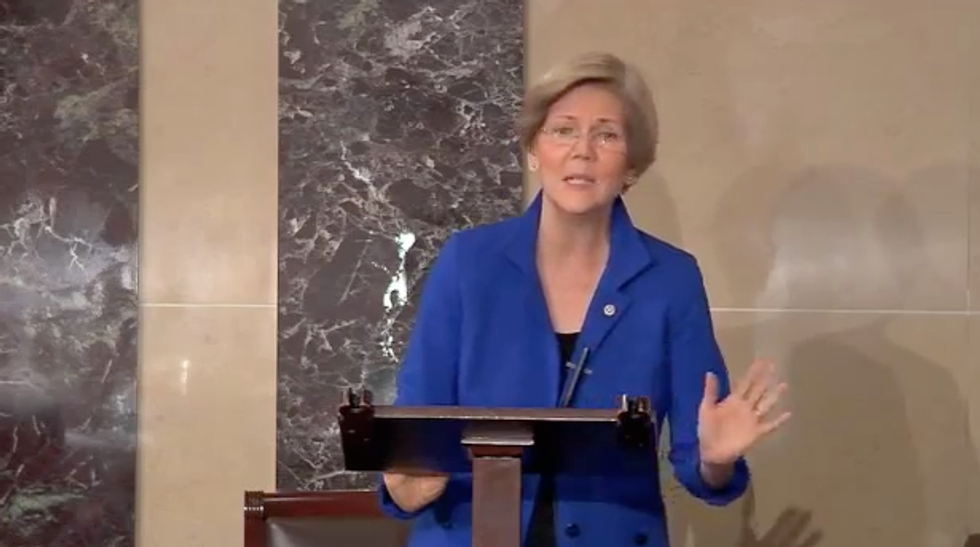 Elizabeth Warren: GOP 'anarchy gang' attacks imaginary 'bogeyman government'